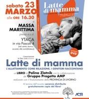 """Presentazione """"Latte di Mamma"""" Massa Marittima 23 marzo 2013"""